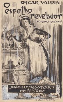 Ilustração original de O espelho revelador (1925), de Oscar Vaudin