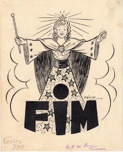 Ilustração de José Félix para a colecção «Manecas»