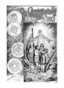 Ilustração na capa do livro Os caramurús, Lisboa, João Romano Torres & C.ª, 1900.
