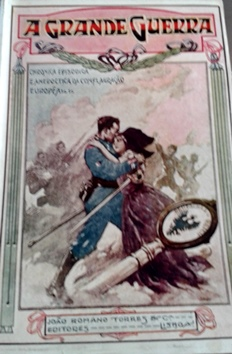 Capa de um fascídulo de A grande guerra